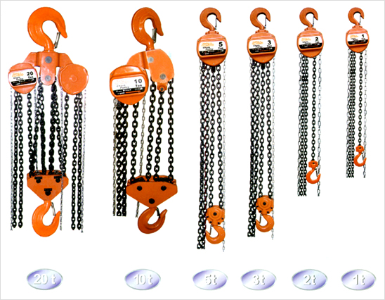 Chain Pulley Blocks 'M' Series